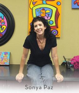 Gianna's Art & Custome Framing - Artist Sonya Paz